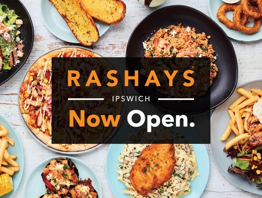Rashays is now open!