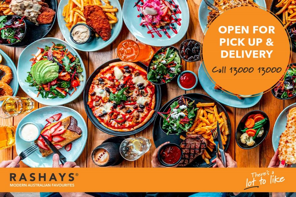 Rashay's are Open for Takeaway & Ubereats