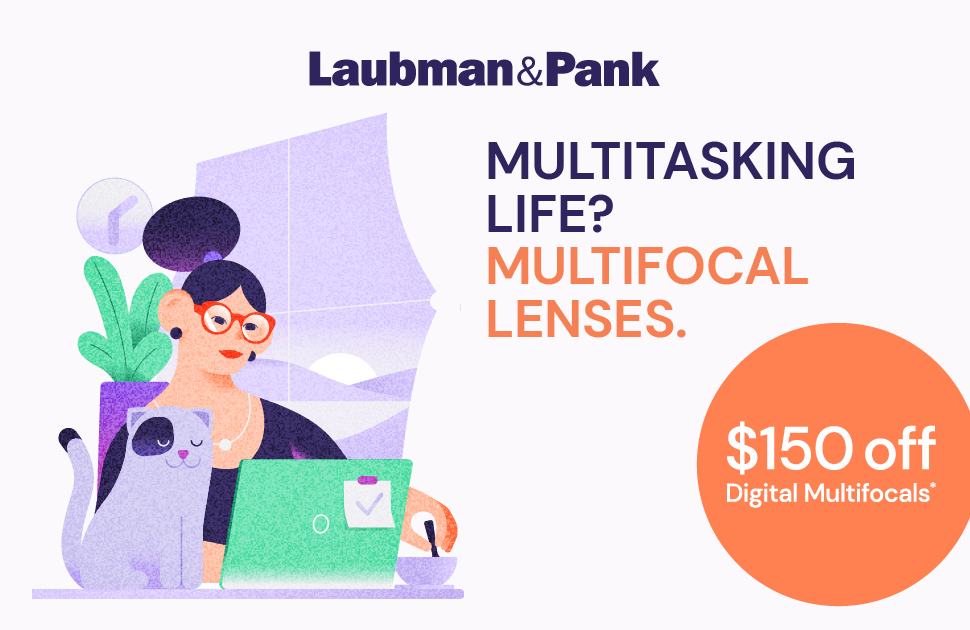 $150 Off Digital Multifocal Lenses When Purchased With A Frame