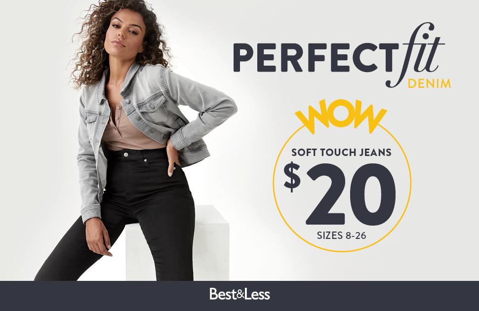 $20 Soft Touch Denim Jeans