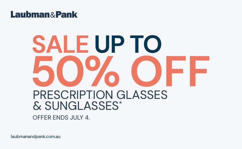 Up to 50% OFF Prescription Glasses & Sunglasses – Laubman & Pank