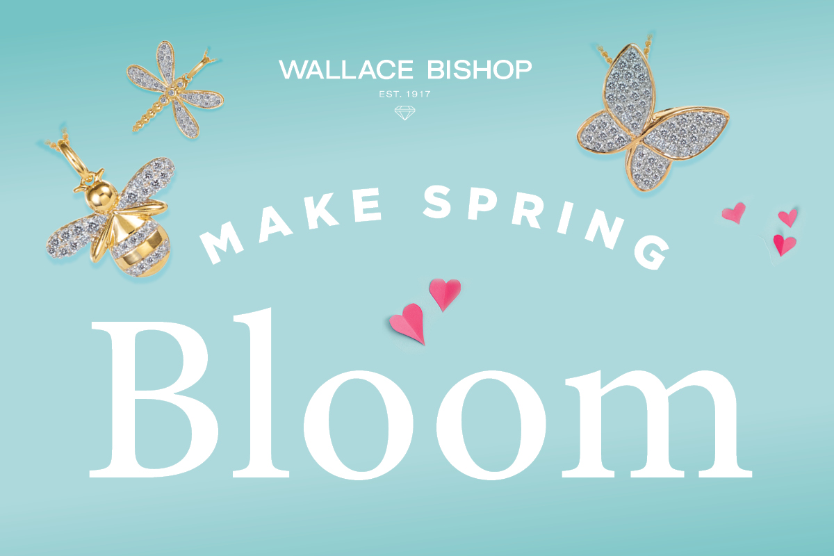 Wallace Bishop's new spring arrivals!